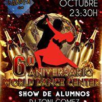 6 Aniversario Escuela World Dance Center
