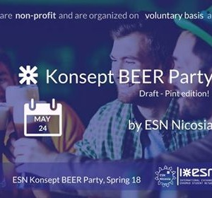 Konsept Beer Party by ESN Nicosia [Spring 18]