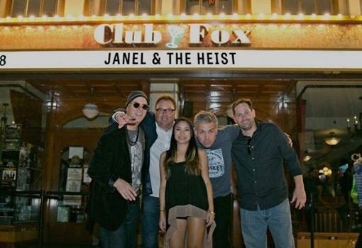 Music in the Park - Janel and The Heist