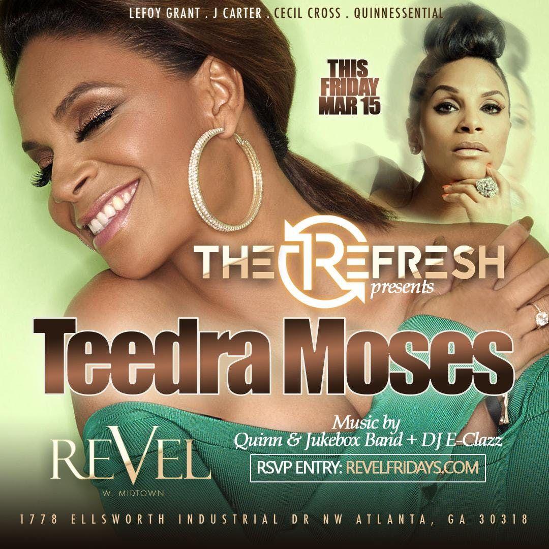 After the work-week enjoy The ReFRESH  REVEL Live MusicAmazing FoodDJs