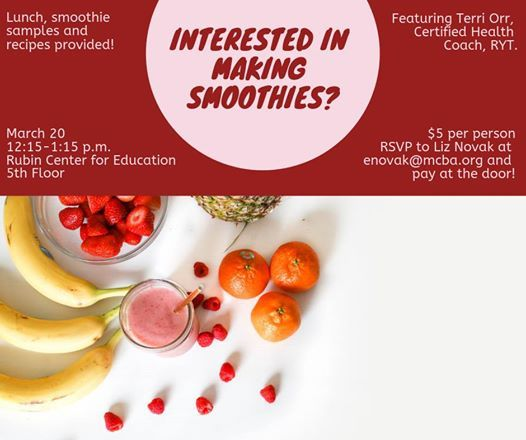 Interested in Making Smoothies
