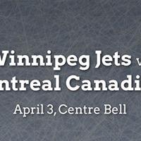 Winnipeg Jets vs. Montreal Canadiens