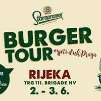 Staropramen Burger tour - Rijeka