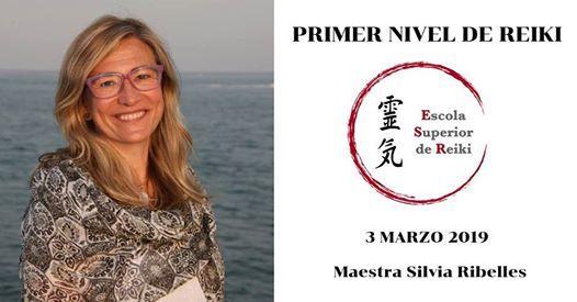 Primer Nivel de Reiki Tradicional Japons con Silvia Ribelles