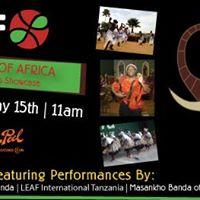 LEAF Legends of Africa Cultural Arts Showcase