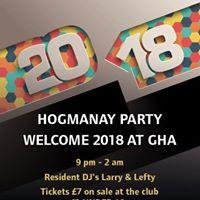 Hogmanay at GHA