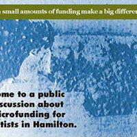 Microfunding Public Meeting