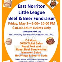 4th Annual ENLL Beef &amp Beer Fundraiser
