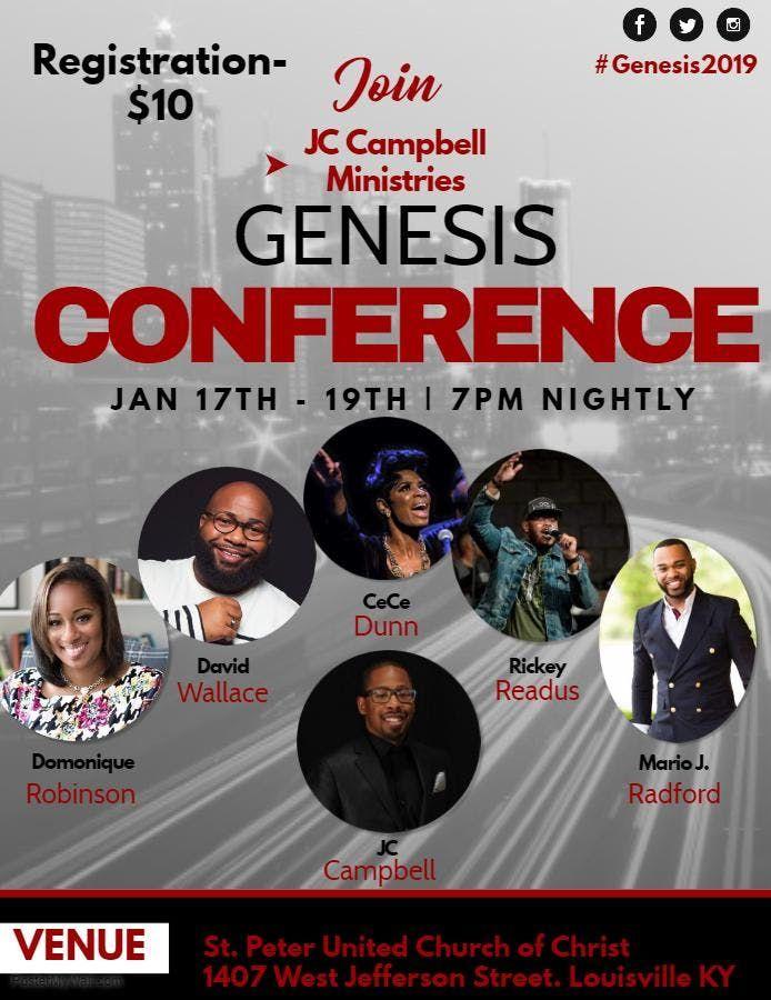 Genesis Conference 2019