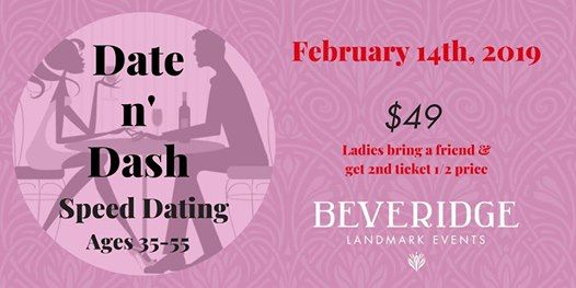 Date n Dash Speed Dating Event