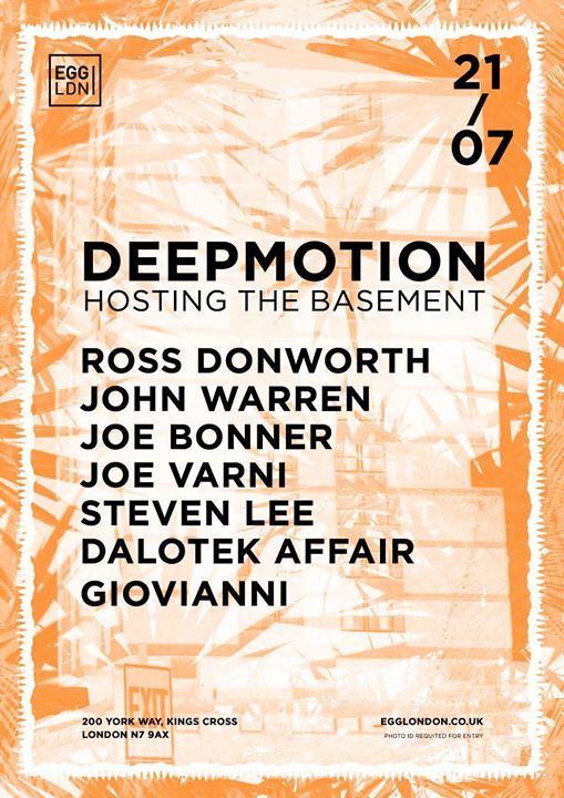 Deepmotion - the Basement Sessions