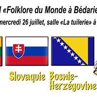 29e Festival Folklore du monde  Bdarieux