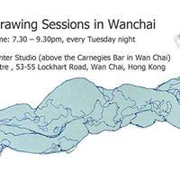Life Drawing in Wan Chai at HKpainter Studio 19th Dec