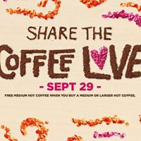 Join us on National Coffee Day