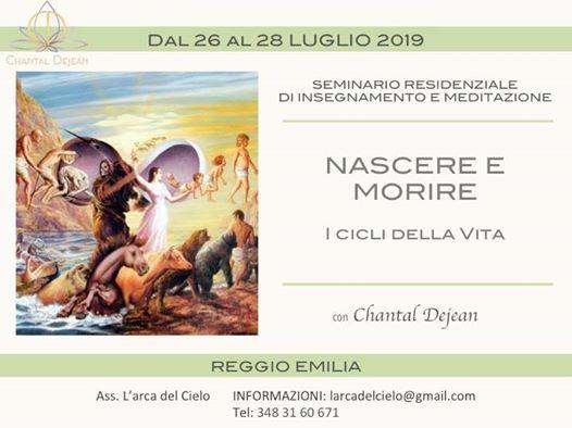 Nascere E Morire - Seminario Residenziale con Chantal Dejean