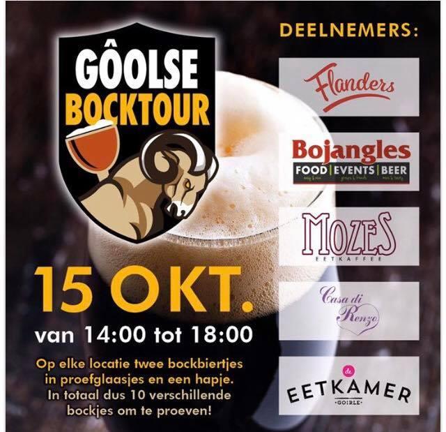 Gôolse Bocktour at De Eetkamer Goirle, Goirle