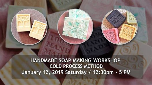 Handmade Soap Making Workshop ( CP Method )