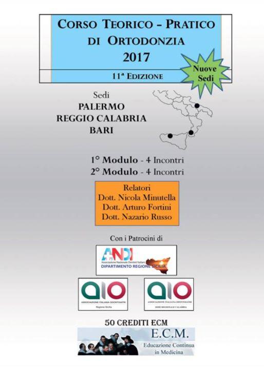 Corso Teorico Pratico di Ortodonzia 2017