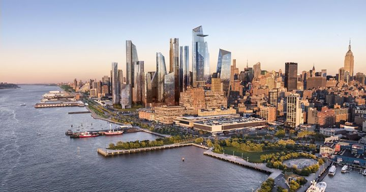The Hudson Yards District New Yorks Newest Neighborhood