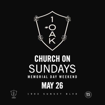 1 Oak LA  CHURCH ON SUNDAYS