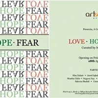 Love - Hope - Fear Curated by Mariam Hanif