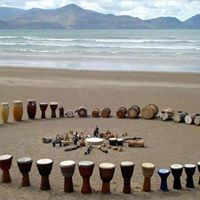 Drum circle with Rania Amr