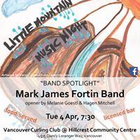 Little Mountain Music Night Mark James Fortin Band