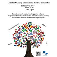 Join The GCC International Festival Comittee