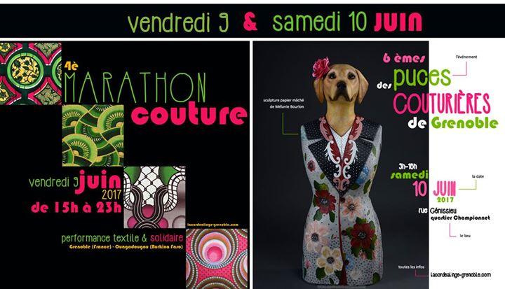 marathon couture puces des couturi 232 res 224 grenoble at la corde a linge grenoble