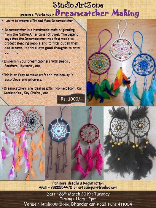Dreamcatcher Weaving