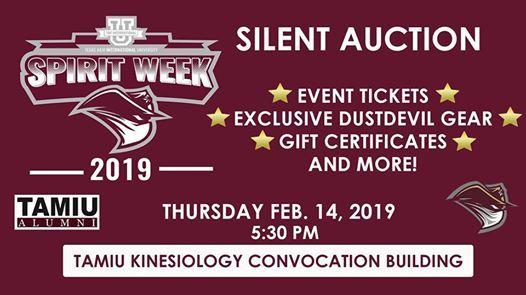 TAMIU Alumni Silent Auction 2019