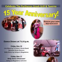 Bellydance Showcase Parthenon 15th Anniversary