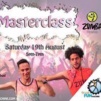 masterclass with the fitness fun machine