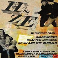RB Music Presents HazeBirdsworthGraftedKevin And The Vandals