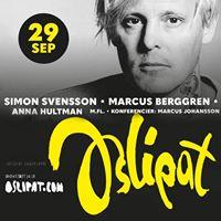 Oslipat Simon Svensson mfl