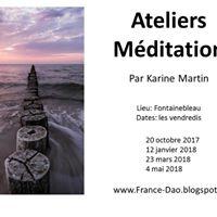 Ateliers De Mditation  Fontainebleau