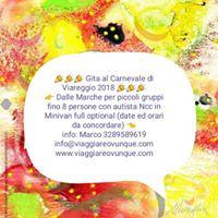 Giornata Al Carnevale Di Viareggio In Minivan