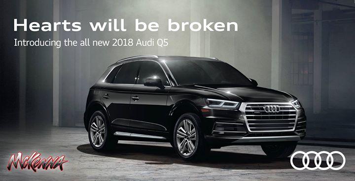The Allnew Audi Q Test Drive Event At McKenna Audi Norwalk - Mckenna audi