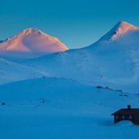 Topptur p randonee-ski til Hgvagltind i Jotunheimen for nybegynnere