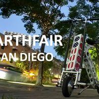 URB-E at EarthFair San Diego