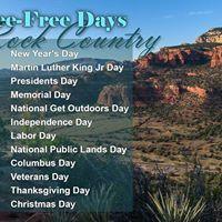 Fee-Free Day Thanksgiving