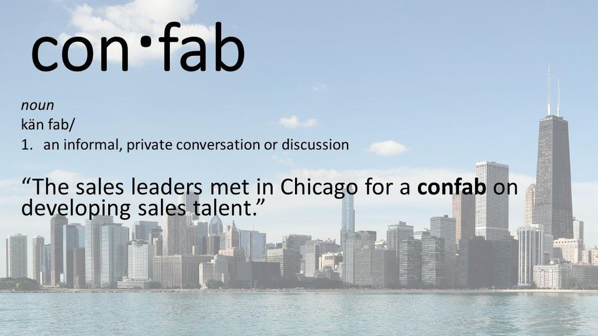 Sales Leadership Confab Chicago Developing Sales Talent