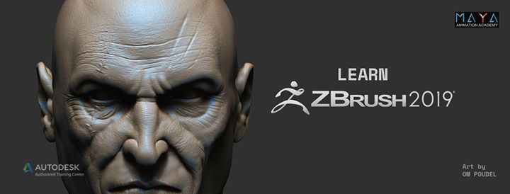 Digital Sculpting with Zbrush at Maya Animation Academy (M2A