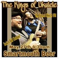 The Kings of Ukulele Smartmouth Beer