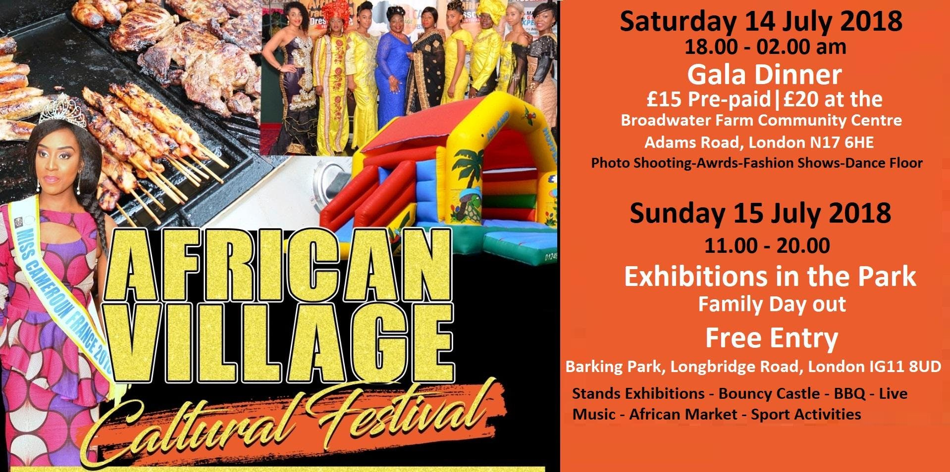 AFRICAN VILLAGE CULTURAL FESTIVAL LONDON 2018