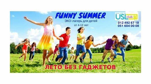 FUNNY SUMMER.-