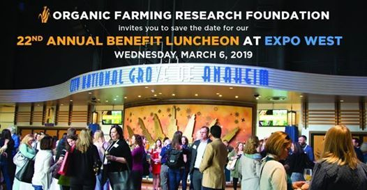 OFRFs 22nd Annual Benefit Luncheon at Expo West 2019