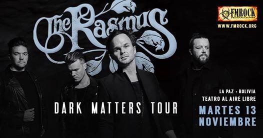 The Rasmus en La Paz Bolivia