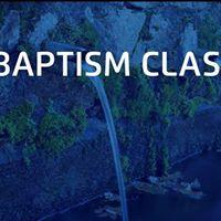 Childrens baptism class