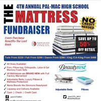 Pal-Mac Class of 2018 Mattress Fundraiser